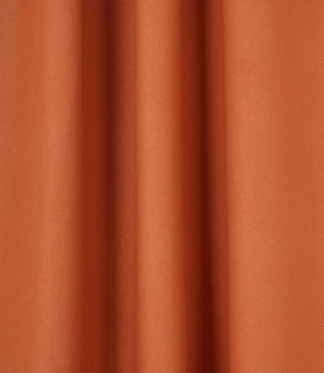 JF Recycled Linen Fabric / Terracotta