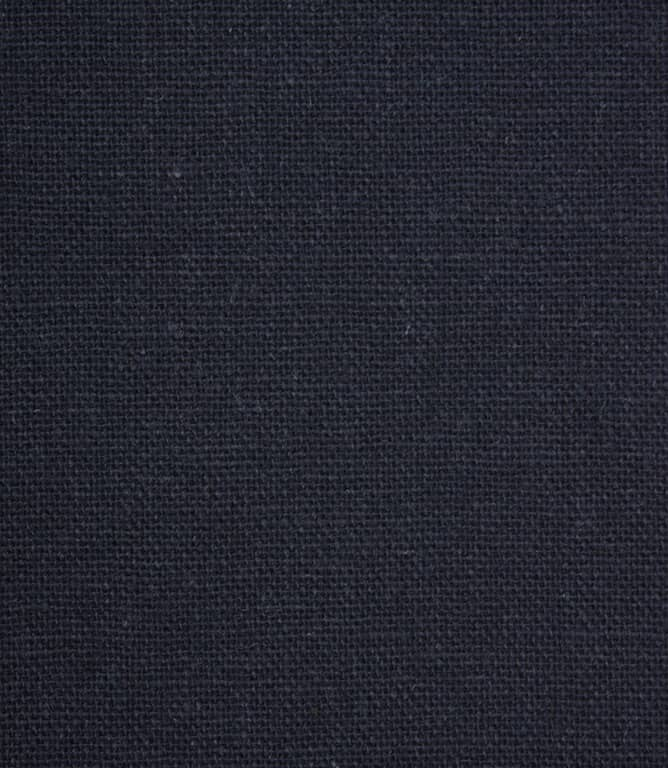 JF Recycled Linen Fabric / Navy