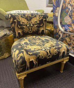 Wild Africa Gold Armchair