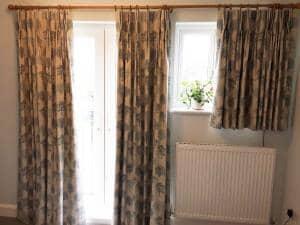 Wood Grey Curtains